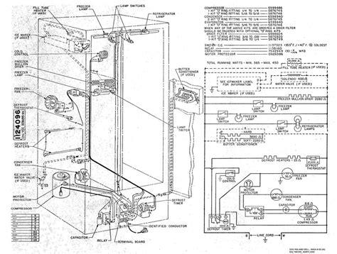 refrigerator schematic by rol n on deviantart