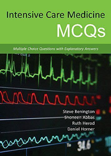 Intensive Care Medicine Mcqs Medical Books Pinterest