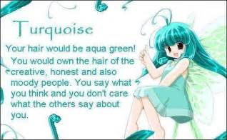 anime hair color quiz anime hair turquoise anime fan 18070981 fanpop