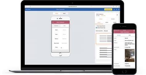 mobile zoho zoho appcreator build mobile apps for your business