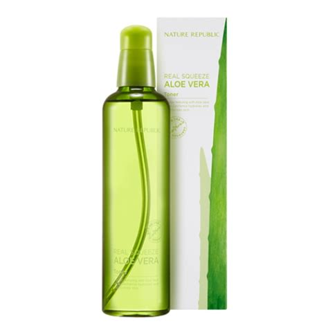 Nature Republic Real Squeeze Aloe Vera Toner 150ml nature republic real squeeze aloe vera toner 150ml