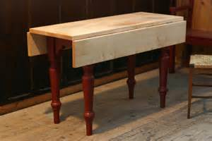 How To Make A Drop Leaf Table How To Make A Small Drop Leaf Table Plans Free