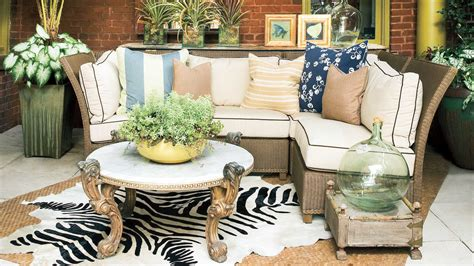 southern living home decor porch decorating ideas southern living