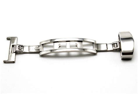 clasp buckle stainless steel jam tangan size 16mm silver jakartanotebook