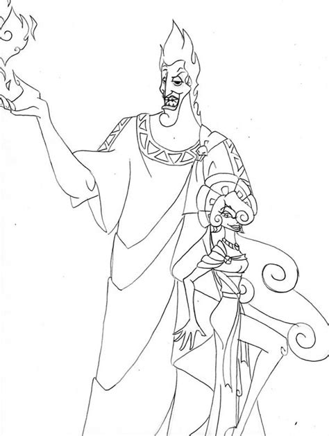 free hades coloring pages