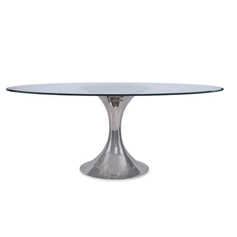 julian chichester dakota table dakota dining table glass tables products