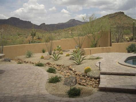 desert backyards 17 best ideas about desert landscaping backyard on