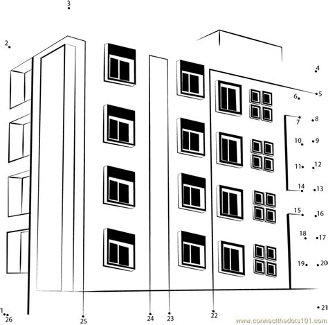 Entering Apartment Address Free Coloring Pages Of Apartment Buildings