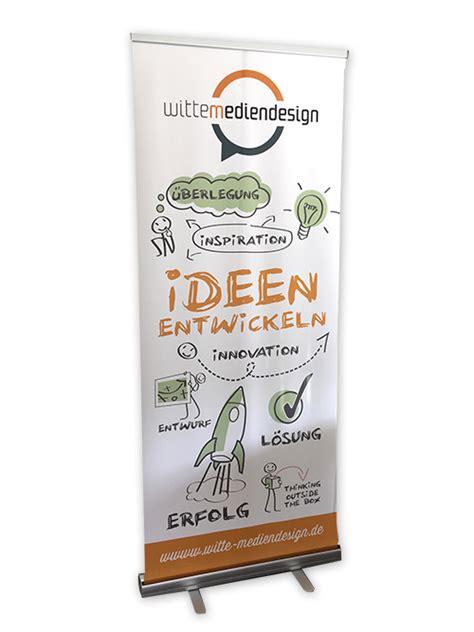 Aufkleber Drucken Lassen Bielefeld by Rollup Design Und Druck Perfekter Digitaldruck Bielefeld