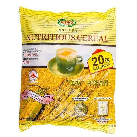 Sereal Instant Oatmeal Cereal instant cereal 30gr 20sachet sereal enak