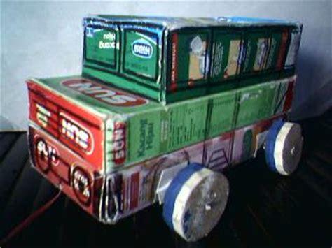membuat mobil dari kardus bekas cara lain membuat mainan anak dari barang bekas artikel