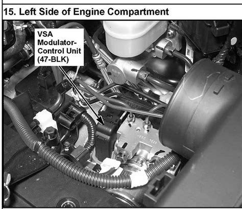 check vsa system acura tl my 2003 acura mdx has a abs light on how do i correct this