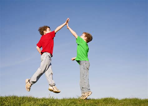 how to a to high five who invented the high five wonderopolis