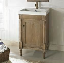 rustic chic 21x18 quot vanity weathered oak fairmont
