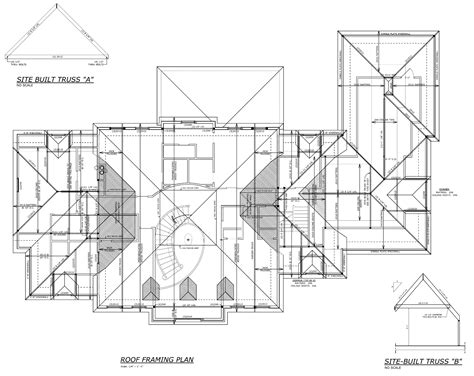 Roof Plans by Residential Drawings Professional Portfolio