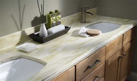 corian countertops kitchen bathroom solid surface falls