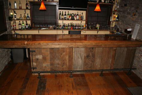 Rustic Barnwood Bar Rustic Wine Cellar Minneapolis
