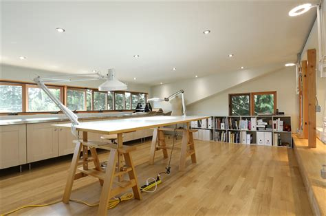 art and craft studio client s eye view creating a light and airy art studio