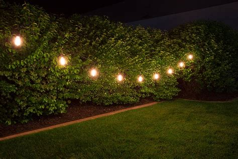 backyard led string lights commercial grade outdoor led string lights 21 10 pendant sockets fits e26 bulbs