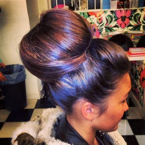 hairstyles with big buns big bun hairstyles pinterest triple weft hair extensions