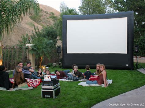 backyard home theater create a home theater in your backyard outdoor movies