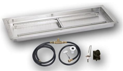 Propane Fireplace Accessories pit kit propane or gas with electronic spark industrial fireplace accessories