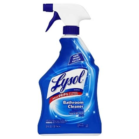 bathroom cleaner brands lysol bathroom cleaner spray brand iii island breeze