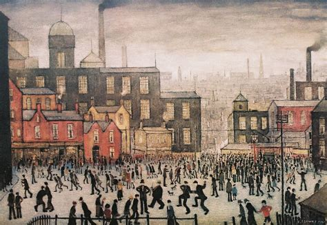Daylight Ls For Artists by Ls Lowry Exhibited In China For The Time Robertson