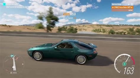 forza horizon 3 1993 porsche 928 gts gameplay youtube 1993 porsche 928 gts forzathon forza horizon 3 youtube