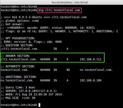 setting   caching dns server  ubuntu server