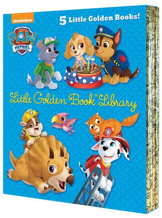 Paw Patrol My Library golden book