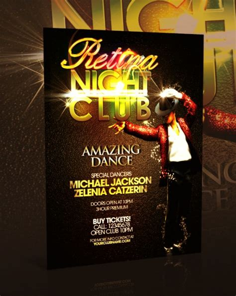 club flyer templates psd nightclub flyers designinstance
