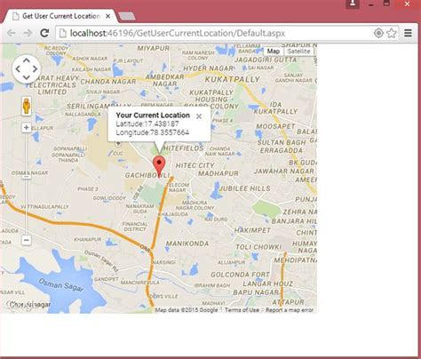 map of current location user current location on map using geolocation api in website