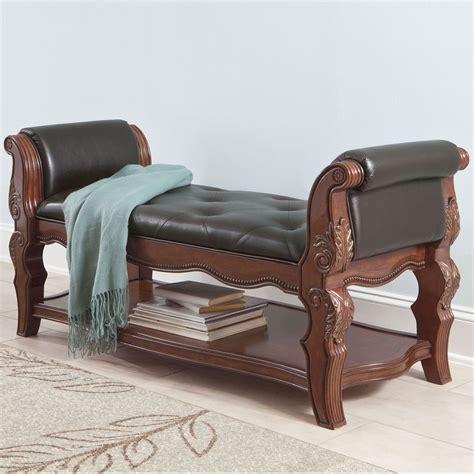 phoenix signature tan upholstered bench signature upholstered bench 28 images signature design