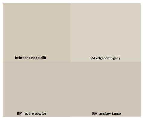 behr paint colors compared to benjamin greige paint behr search color my world