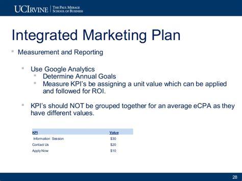 Uci Mba Rate by Exle 2 2010 11 Uci Merage Exec Programs Marketing