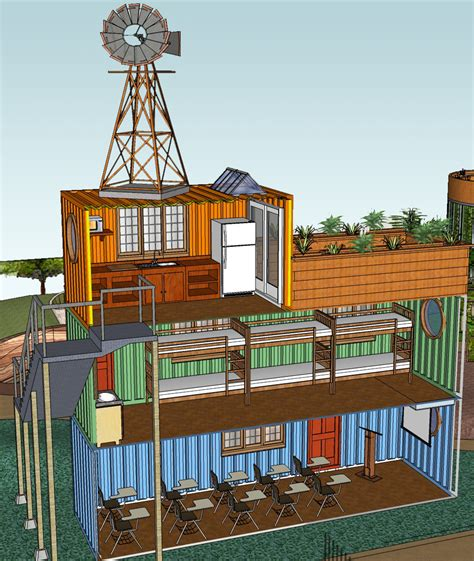 Modular Kitchen Design For Small Area stacked container classroom and dorm middlebrook center