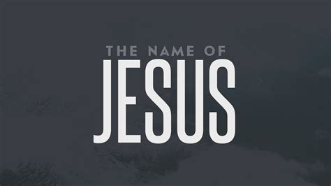 the name of the the name of jesus waters church norwood