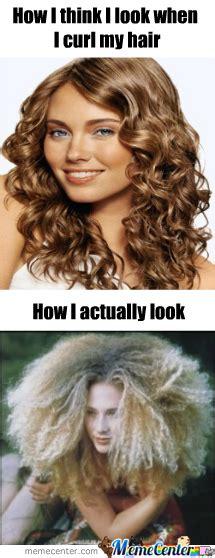 Curly Hair Meme - curly hair by superpeanut meme center