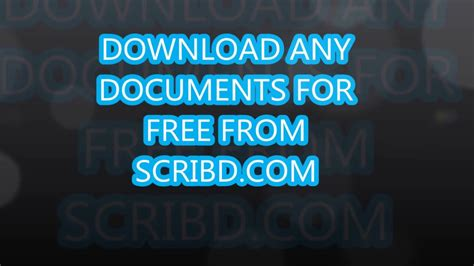 how to download from scribd for free 2016 working trick how to download from scribd for free 2018 simple steps