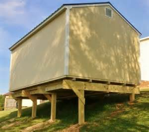 Piling House Plans shed foundation 101 the 5 most popular shed foundations