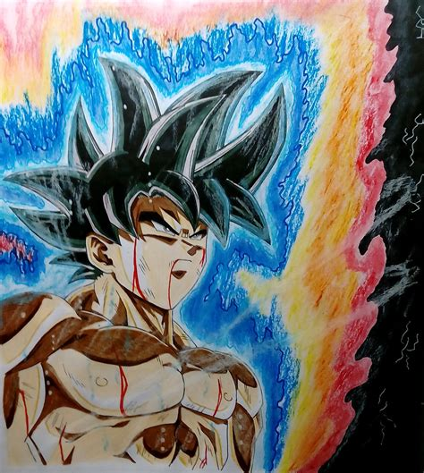 imagenes de goku migatte no gokui dragon ball super goku migatte no gokui by metaln23 on