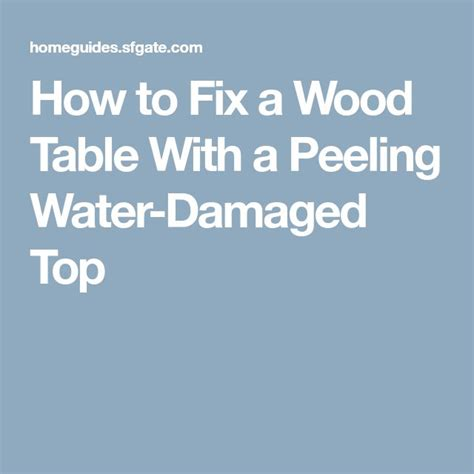 how to fix water damage on wood table 16 best water and mold damage in newtown pa call 855 475