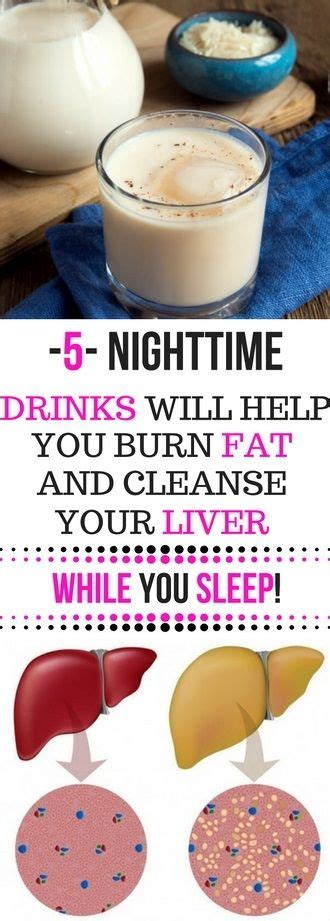 Detox While You Sleep by 5 Nighttime Drinks Will Help You Burn And Cleanse Your