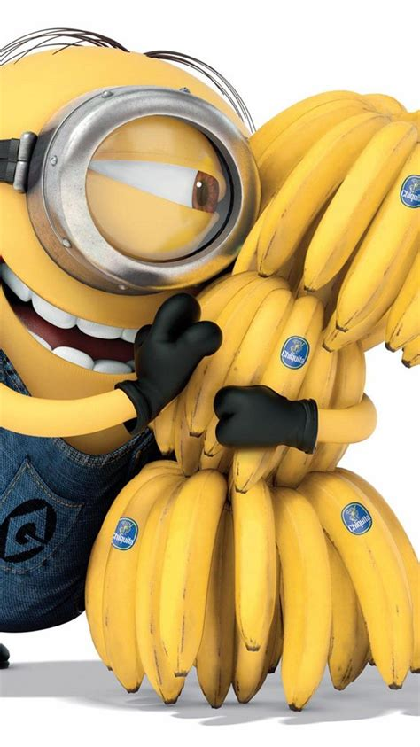 banana minions wallpaper hd 2014 happy despicable me minion with lots of bananas