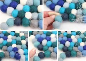 make felt rug 25 best ideas about felt rug on felt felt garland and diy rugs