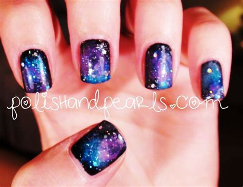 tutorial nail art galaxy diy galaxy nails tutorial www imgkid com the image kid