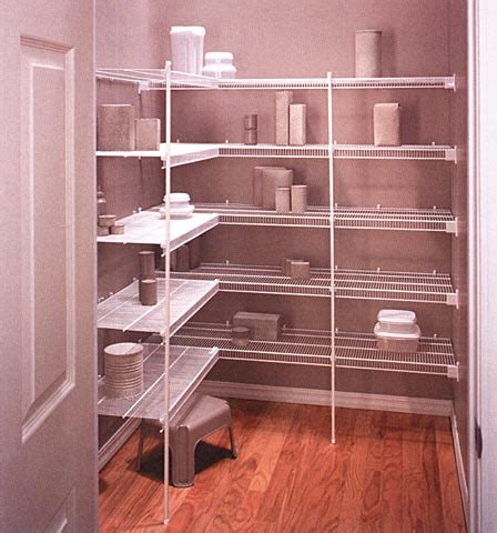Chrome Pantry Shelves by Chrome Pantry Shelving Systems Interior Exterior Doors