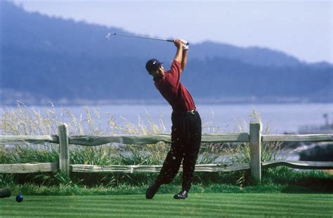 swing by swing pebble the 5 most memorable shots woods hit in the 2000 u s open