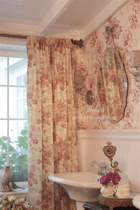 french country cottage curtains french cottage toile french country cottage
